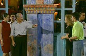 Diego Trujillo, Carolina Acevedo y Roberto Cano en el set de Pobre Pablo. Foto: RCN