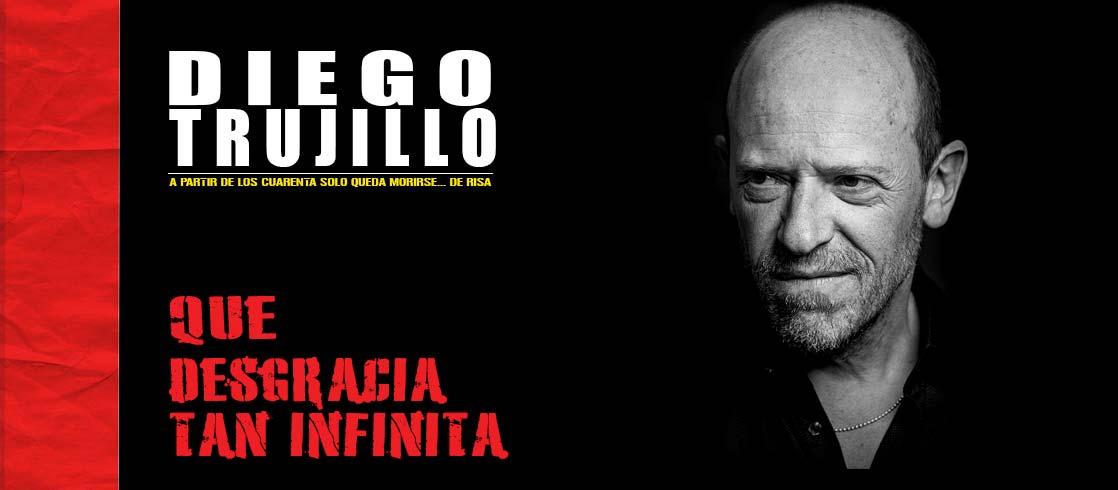 Diego en su stand up ¡Qué desgracia tan infinita! Foto. Lucas Sempere
