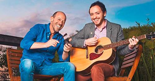 Diego Trujillo y su hijo Pablo, se convirtieron en socios por amor al arte. Foto: Jet-Set