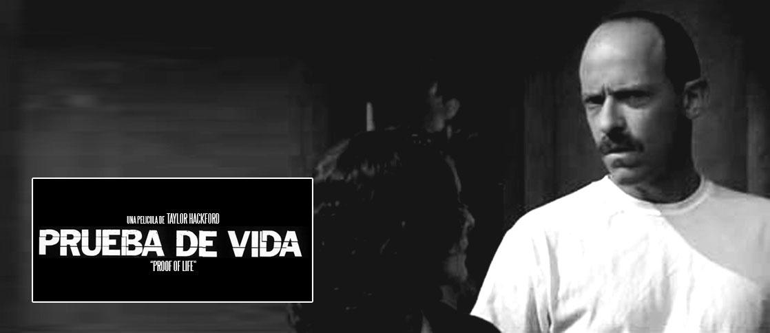 Prueba de vida es la primera participación de Diego Trujillo en el cine internacional.