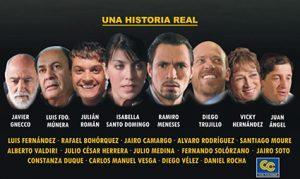 La película el trato cuenta con un excelente elenco de actores colombianos.