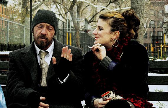 Diego Trujillo y Linn Mastio Rice protagonizan la película Riverside filmada en la ciudad de Nueva York.