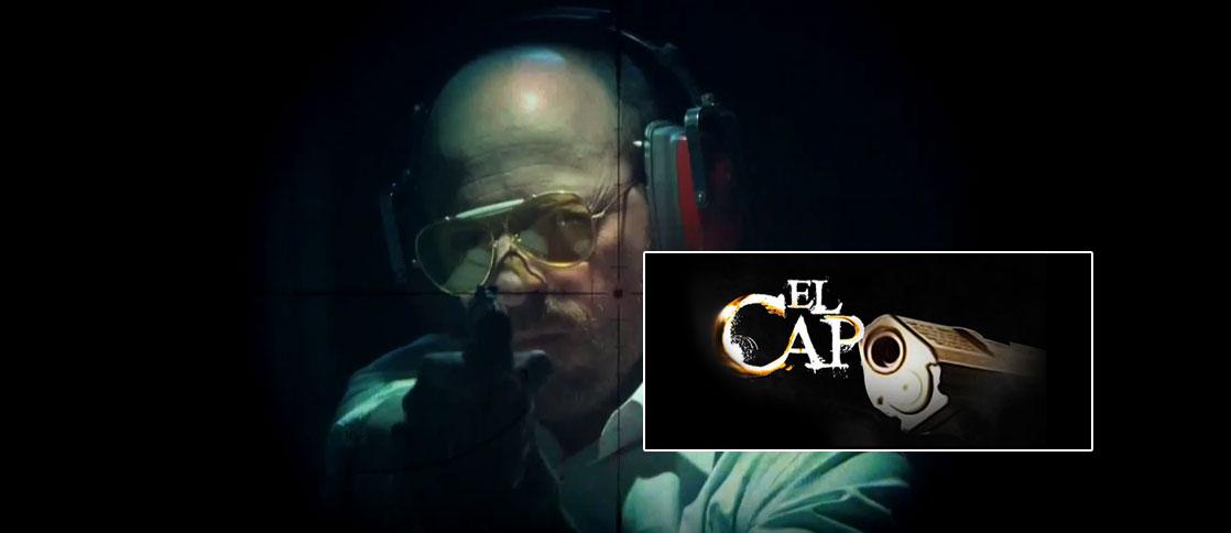 Diego Trujillo interpreta en El Capo al ministro de defensa Guillermo Holguín. Foto: RCN - FoxTelecolombia