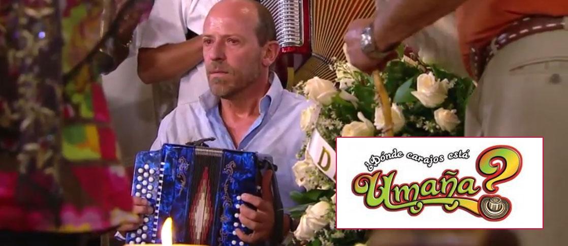 Diego Trujillo protagonizó Dónde carajos esta Umaña. Foto: Caracol Tv