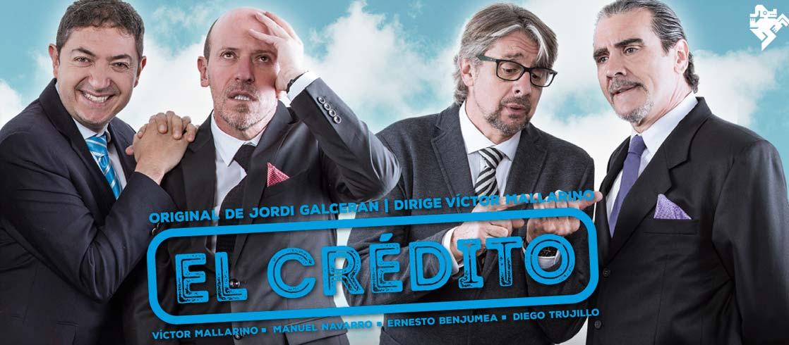 El Crédito fue dirigida por Víctor Mallarino. Foto: Teatro Nacional